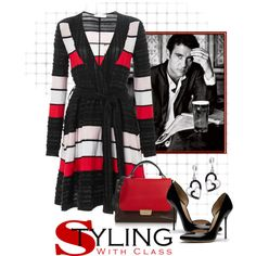 Tanya Taylor Winnie Textured Stripe Dress by ldumperth on Polyvore featuring Tanya Taylor, Gucci, Emilio Pucci, women's clothing, women's fashion, women, female, woman, misses and juniors