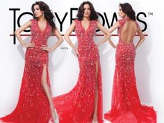 Wow, Wow, Wow.... This gown is stunning for prom or pageant 2014! www.reflectionsva.com