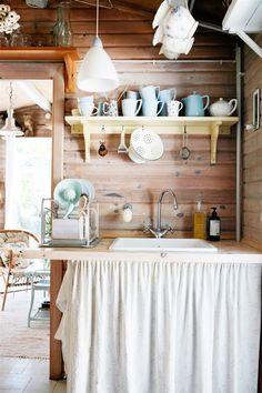 """ Home & garden "" Turbulence Deco, Compact Living, Plank Walls, Interior Decorating, Interior Design, Scandinavian Home, Kitchen Countertops, Kitchen Sink, House Rooms"