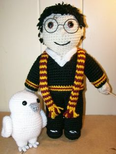 Harry And Hedwig - CROCHET
