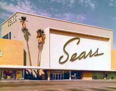 this picture reminds me sooo much of my grandmother, who loved Sears and lived in SoCal where this picture was clearly taken.  she would shop for everything at sears and she'd always pay with her sears card and nothing else.