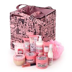 Soap & Glory. smells and feels good:)