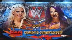 Alexa Bliss vs Sasha Banks at Summerslam! Wwe Raw Women, Wwe Pay Per View, Raw Women's Champion, Sasha Bank, Wwe Superstars, Wrestling, Banks, Search, Twitter