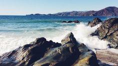 beach rocks waves -  beach rocks waves free stock photo Dimensions:1920 x 1080 Size:0.70 MB  - http://www.welovesolo.com/beach-rocks-waves/
