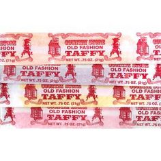 Taffy from Farrell's Ice Cream Parlor