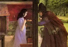 Галерея современного искусства - Illustrator Angela Barrett. Snow White