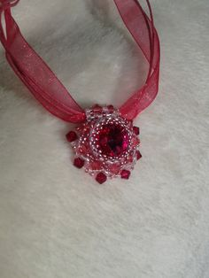 Pretty in Pink necklace by ZsombiLand on Etsy