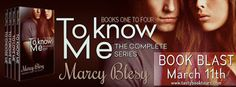 Tome Tender: To Know Me by Marcy Blesy Blast and Giveaway