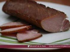 Muschiulet de porc afumat, Poza 3 Romanian Food, Pastry Cake, Smoking Meat, Charcuterie, Preserves, Sausage, Bacon, Yummy Food, Homemade