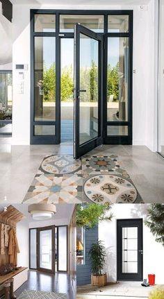 Patio Doors, Entry Doors, House Front Door, My House, Single Patio Door, Home Remodeling, Clinic, Interior Decorating, New Homes