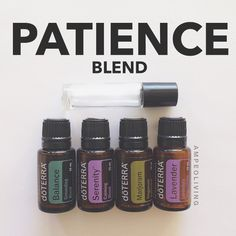 Patience blend  15 drops Balance ➡️15 drops Serenity ➡️10 drops Marjoram➡️10 drops Lavender  Fill the rest with Fractionated Coconut