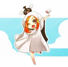 Anime, Fanart, BLEACH, Inoue Orihime, Pixiv, chibi