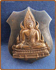 Power Spirit ethnic buddha art holy amulet coin pendants - prabuddhachinalart