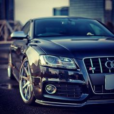 Audi S5, this one is a sleek design and nice performance but i still like my jaguars