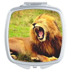 Marble Pictures, Mandala Throw, Lion Pictures, H Design, Customized Gifts, Custom Gifts, Office Essentials, Compact Mirror, S Pic