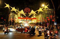 Hanoi night in TET