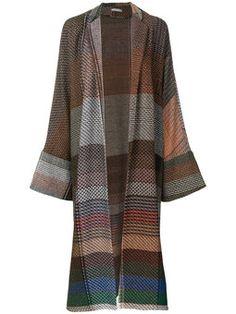 embroidered cardi-coat