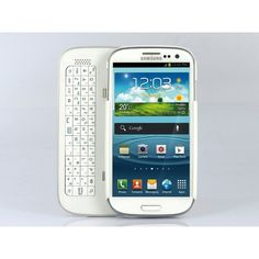 Wireless Slide-Out Bluetooth Keyboard with detachable case. Specifically designed to fit the Samsung galaxy S4, this accessory doubles both as a wireless keyboard and a case from shopswagstore.com