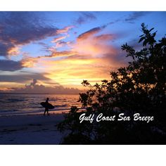 Silhouette of a skim boarder, Bowditch Point, Fort Myers Beach Photo by gulfcoastseabreeze
