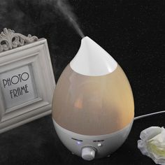 7 Colors LED Night Light 1.3L Home Air Humidifier Aromatherapy Ultrasonic Aroma Diffuser Atomizer For Bedroom Office Cute Design