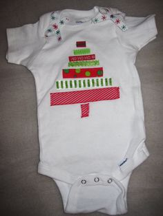 Christmas Tree Onesie or a bigger one for my girls