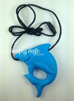 Blue Silicone Teething Shark Pendant Bead - Chew Baby Jewelry Teething Necklace Pendant Teether Toy DIY Supplies by SimplySafeSilicone on Etsy https://www.etsy.com/listing/242935429/blue-silicone-teething-shark-pendant