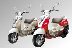 "The Iconic SYM Mio Scooter. Looks a lot like the Honda Jazz but has the famous SYM ""Engine of Life"" Ceramic coated cylinder engine providing unparalleled performance"