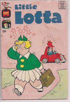 Little Lotta comic books!