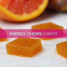 Energy Chews 3 Ways, alternative to gelatin Healthy Snacks, Healthy Recipes, Diy Food, Food Hacks, Food Videos, Love Food, Food To Make, Cooking Recipes, Cooking Food