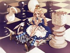 alice and wonderland art - Google Search