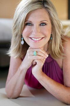 The timeless Olivia Newton John--ageless--I love how she always looks like she is glowing and has dewy skin