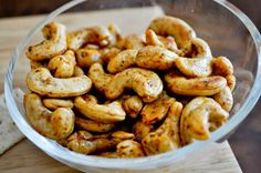 These nuts are SO good!  Made them (and tried them, having trouble keeping the men in the family from devouring all of them) tonight and they are SO good!!  I'll be bringing these spicy nuts to the party.