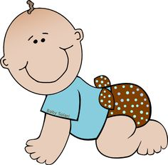 Baby Solari Polka Dots clip art -