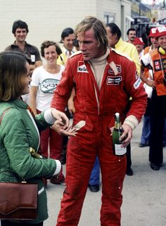 As a British school boy in the 70's we all want to be James Hunt or Barry Sheene. Event then I though 4 wheels were better than 2 and I had no idea what a Playboy actually was so I wanted to be James Hunt. Here's hoping that the new Ron Howard film Rush does him justice.