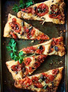 The Brooklyn Ragazza: Brooklyn Salumeria Pizza with a Rosemary Fra Diavolo Crust