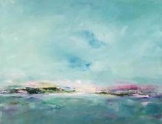 "Saatchi Art Artist Patti Kane; Painting, ""Violet Fields"" #art"