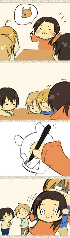 Hetalia - Chibi England, America, Japan, and China : The Bear Part 5 / 5