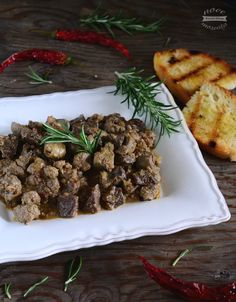 Coratella di agnello con cipolle