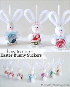Easter Bunny Suckers