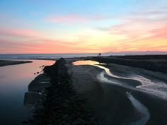 Sunset, Mouth of the Santa Ana River, Feb 2012