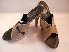 Donald J Pliner Slide Sandal, 8M Gypsy Taupe Metallic Leather Heel - Now available from #LadyLindasLoft on #eBay - Save on your favorite #designer fashion! http://www.ebay.com/itm/Donald-J-Pliner-Slide-Sandal-8M-Gypsy-Taupe-Metallic-Leather-Heel-Shoes-Couture-/360988396901?pt=US_Women_s_Shoes&hash=item540c95cd65 #Shoes #Heels #DonaldJPliner #Slides #Leather