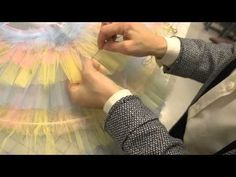Constructing a Classical Ballet Tutu (Part 5: Hooping and Quilting the Skirt) - YouTube