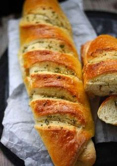 Cooking Bread, Bread Baking, Bread Recipes, Cooking Recipes, Healthy And Unhealthy Food, Pan Integral, Good Food, Yummy Food, Czech Recipes