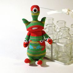 OddSox One-eyed Sock Monster by OddSoxUK, via Flickr