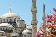 De blauwe moskee in... #Istanbul