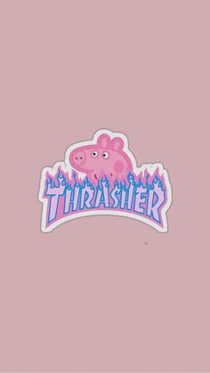 Future Wallpaper, Retro Wallpaper, Cute Wallpaper Backgrounds, Pretty Wallpapers, Phone Backgrounds, Iphone Wallpaper, Home Lock Screen, Thrasher, Peppa Pig