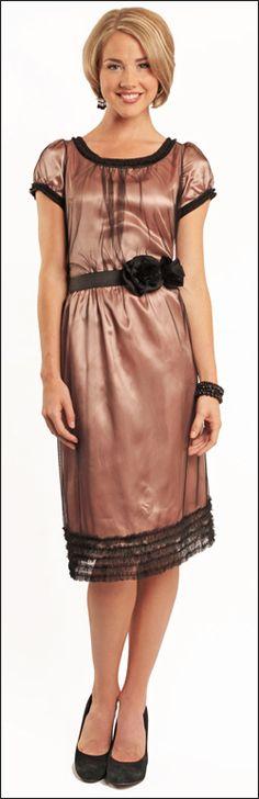 Mika rose dress