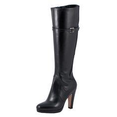 Scarpe moda donna: Stivali Tacco Alto 22225-S Nero