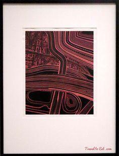 Motorways by Robert Ellis, Auckland Art Gallery, New Zealand Auckland Art Gallery, New Zealand Travel, Best Artist, Artists, Abstract, Architecture, Eat, Artwork, Painting