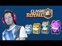 CLASH ROYALE - 3 Cofres SUPERMAGICOS y 1 MAGICO! Montemos mazos! - YouTube